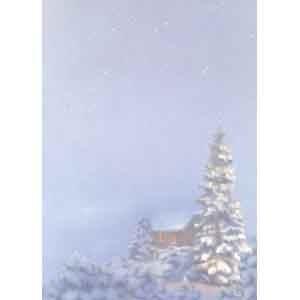 100 weihnachtsbriefe winternacht ms143050. Black Bedroom Furniture Sets. Home Design Ideas