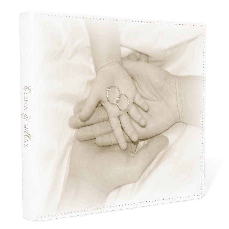 Gästebuch für Hochzeit mit Baby oder Taufe & Traufe