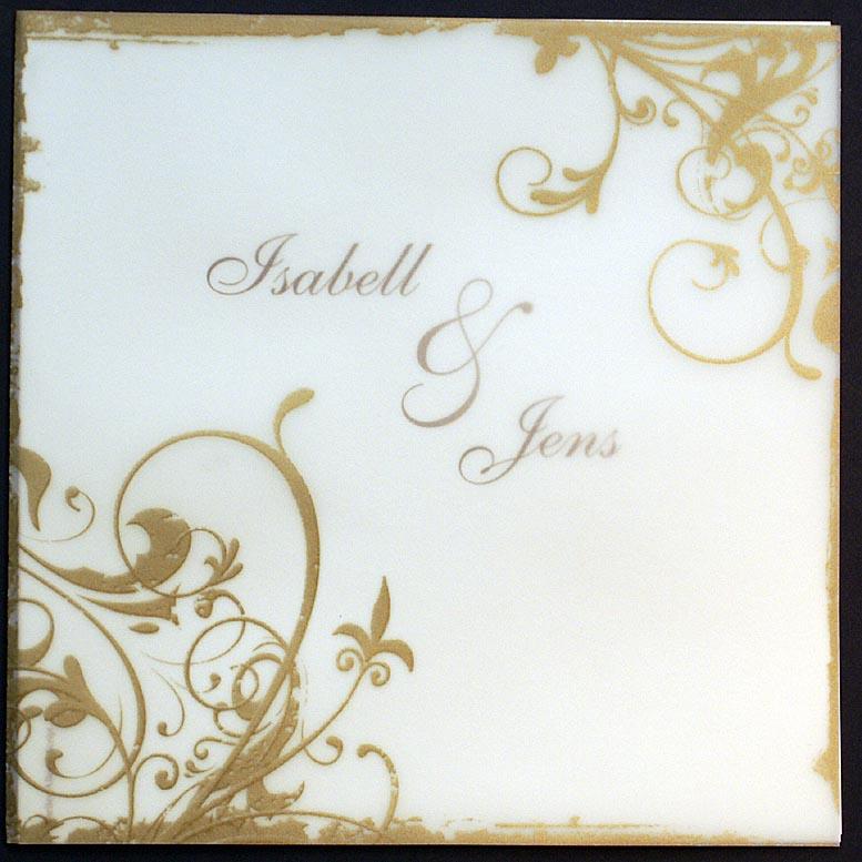 einladungskarte pr720820 goldene hochzeit ornamente. Black Bedroom Furniture Sets. Home Design Ideas