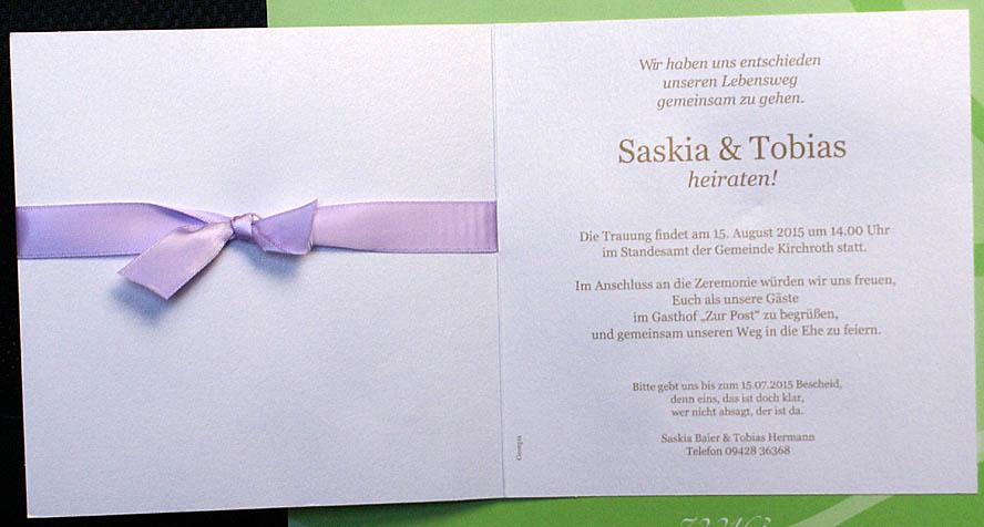 Hochzeit Blog Einladung Zum Hochzeit