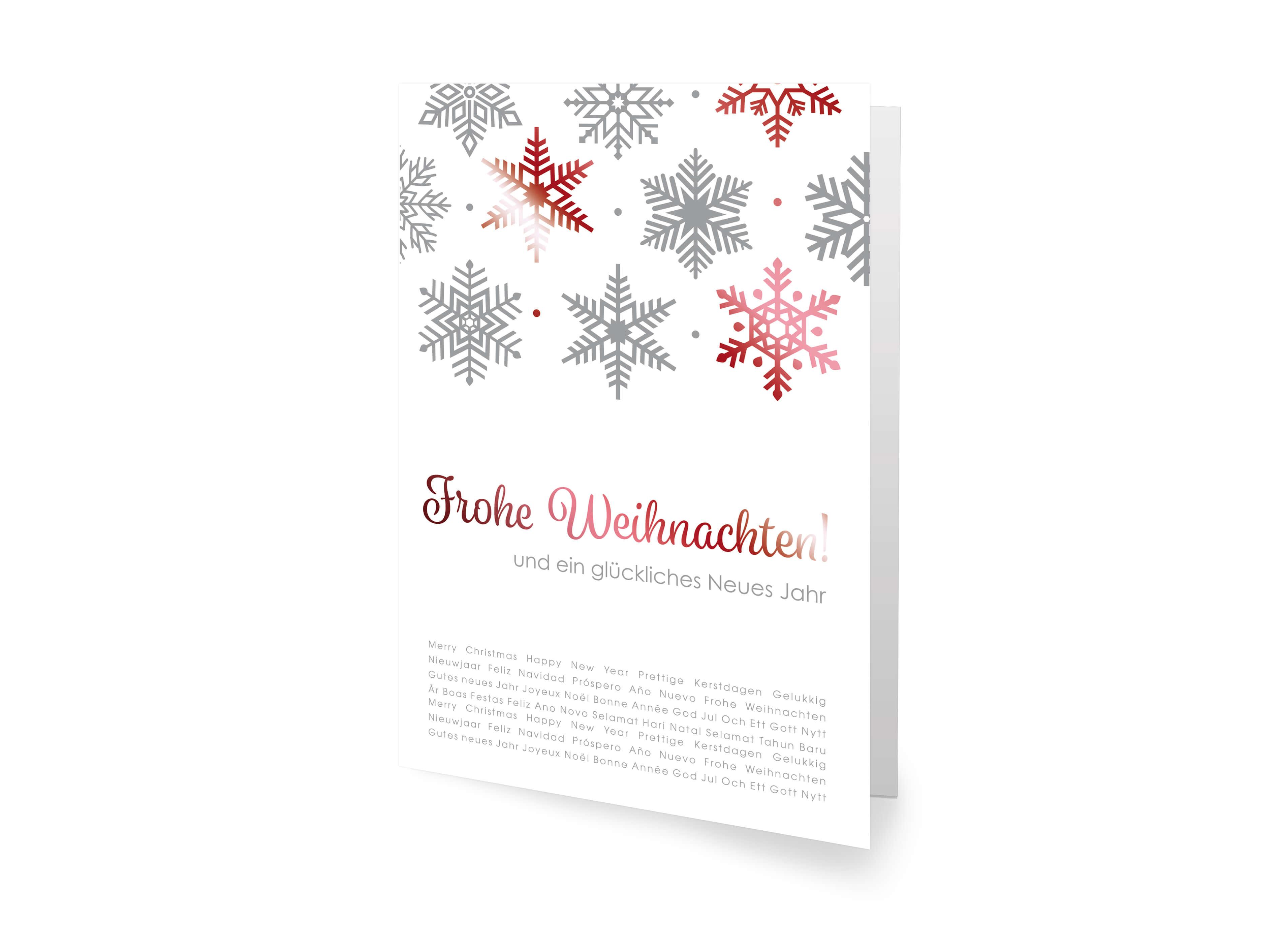 klassische weihnachtskarte mit gutem zweck deutscher. Black Bedroom Furniture Sets. Home Design Ideas