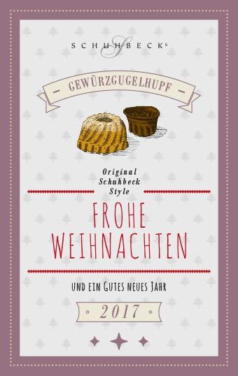 Schuhbecks Weihnachtskarte mit Original-Rezept für Gewürzgugelhupf ...