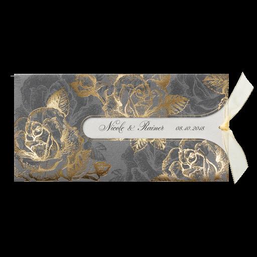 ... Hochzeitseinladungen – mit Blumen / Blüten / Pflanzen – Rosen