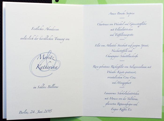 Menükarte creme metallic Geburtstag Goldene Hochzeit pr8722677 – sonstige Anlässe ...