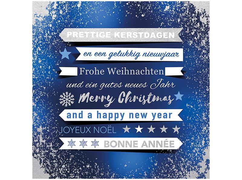 Internationale Weihnachtskarte für den Deutschen Kinderschutzbund ...