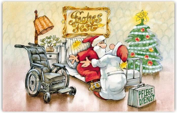 Lustige Branchenkarte Fur Pflegedienst Seniorenheim Sozialer