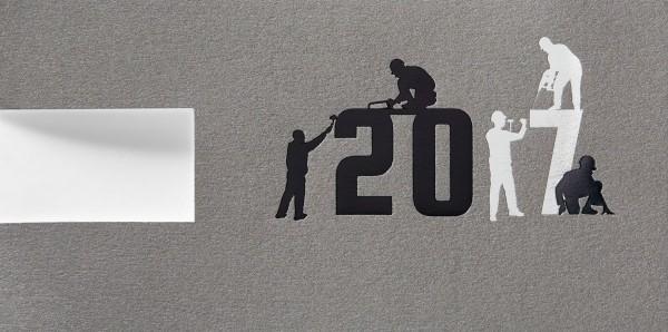 Neujahrskarten Geschäftlich
