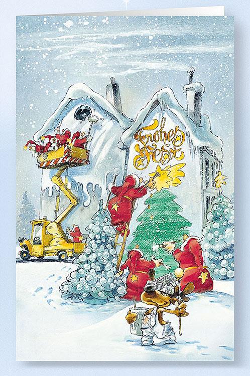weihnachtskarte branchenkarte maler verputzer lackierer weihnachten weihnachtskarten. Black Bedroom Furniture Sets. Home Design Ideas