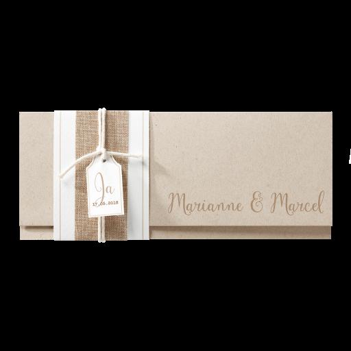 Banderole, Juteband und Schnur – Hochzeit – Hochzeitseinladungen ...