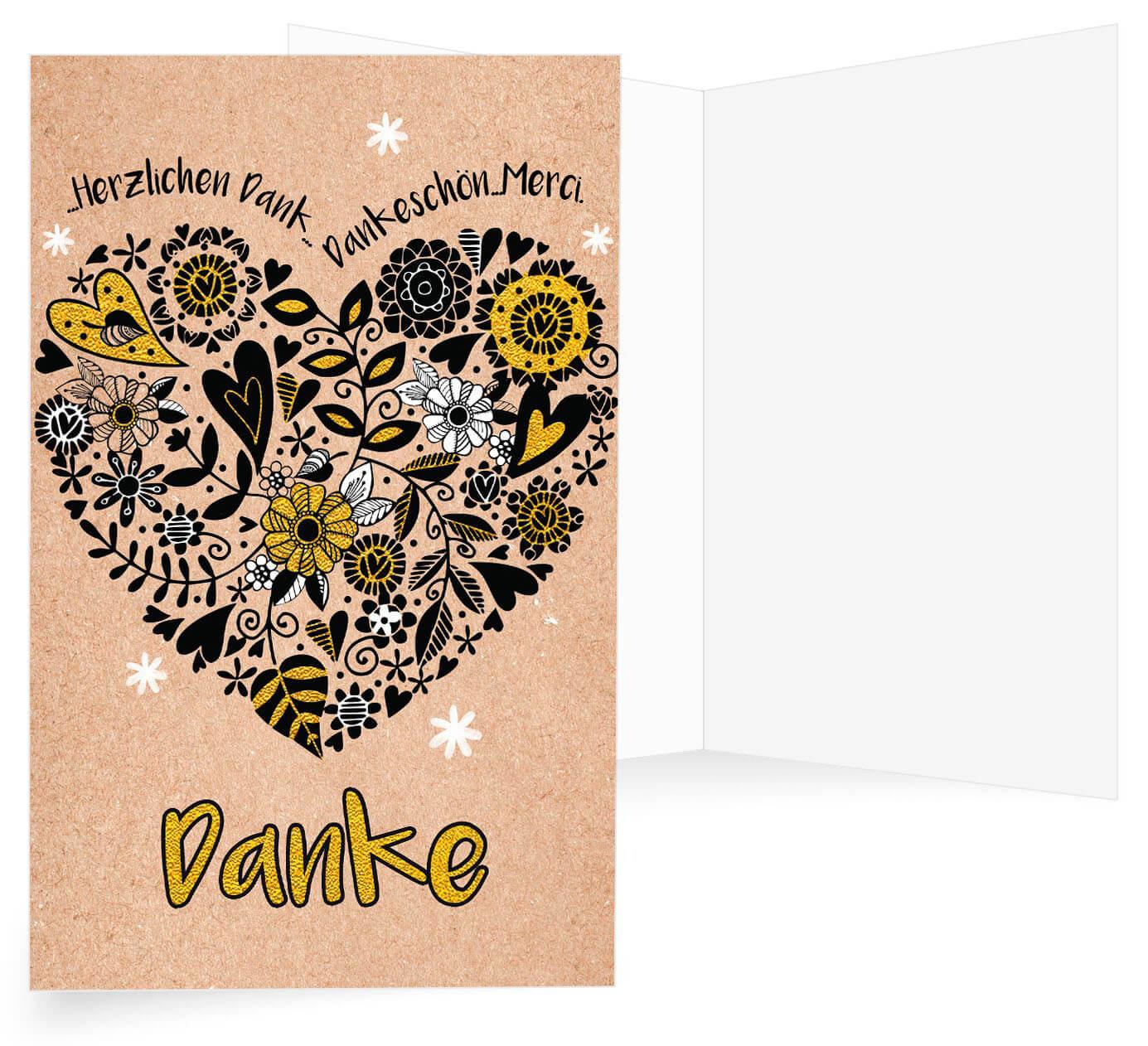 Dankkarten Goldene Hochzeit Alle Kartende