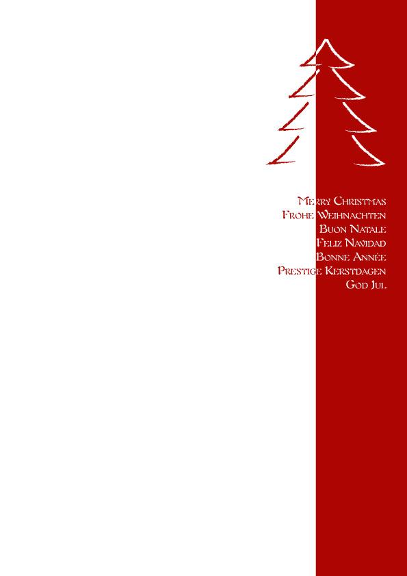 """100 Weihnachtsbriefe wbl042 Weihnachtsbriefpapier """"Roter Rand"""" – Weihnachten ..."""