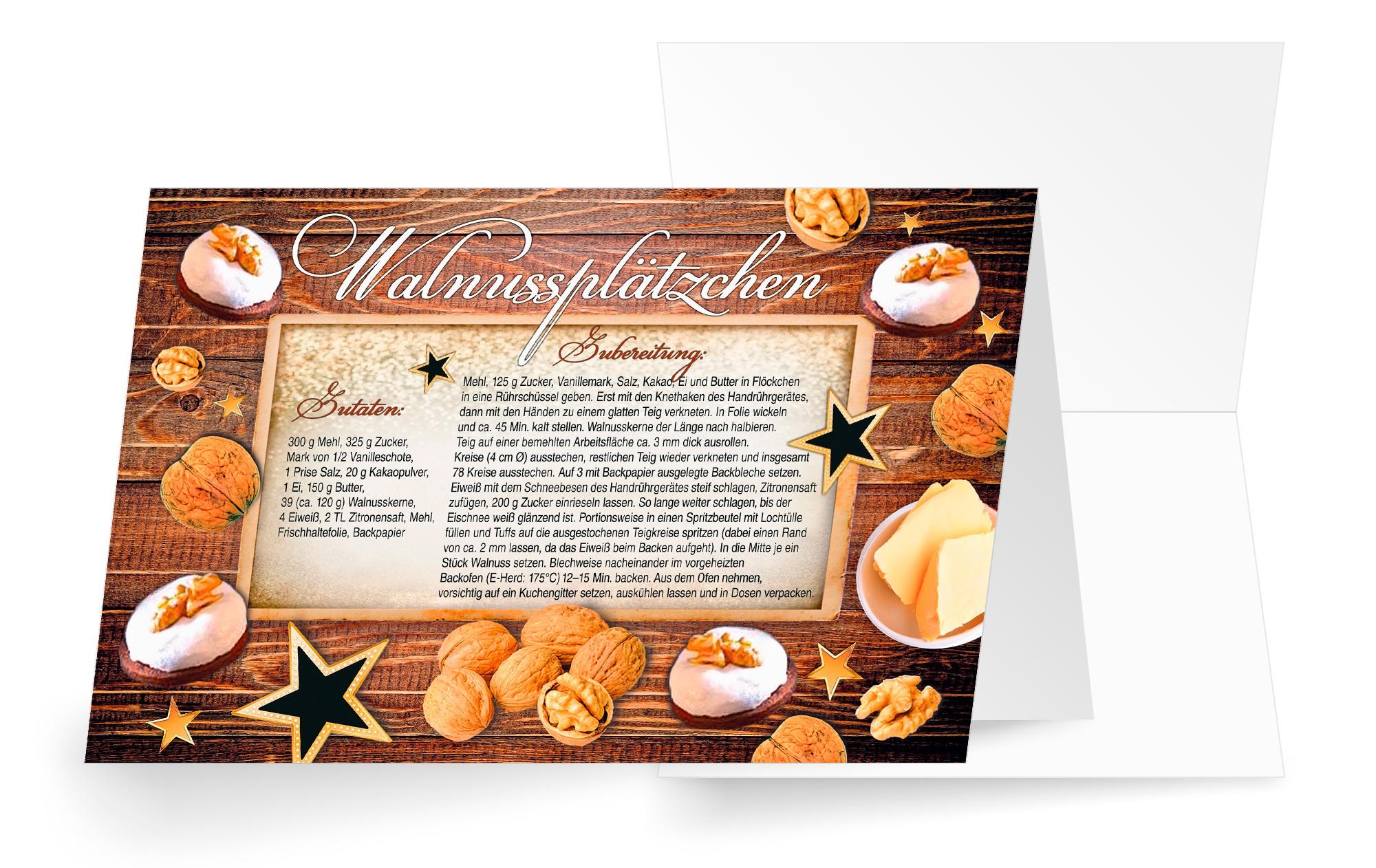 Weihnachtskarten Mit Duft.Weihnachtskarten Und Rezeptkarten Mit Duft Online Bestellen Alle