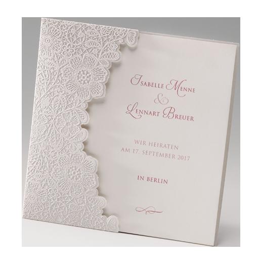 ... Hochzeitseinladungen – nach Farben sortiert – silber / perlmutt