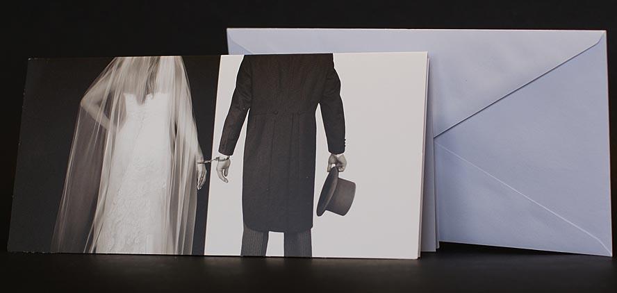 50 hochzeitskarten ans36 braut br utigam an handschellen. Black Bedroom Furniture Sets. Home Design Ideas