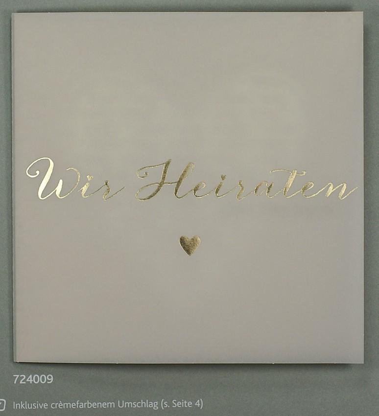 Hochzeitskarte Aus Transparentpapier Und Aquarellkarton Cremewei