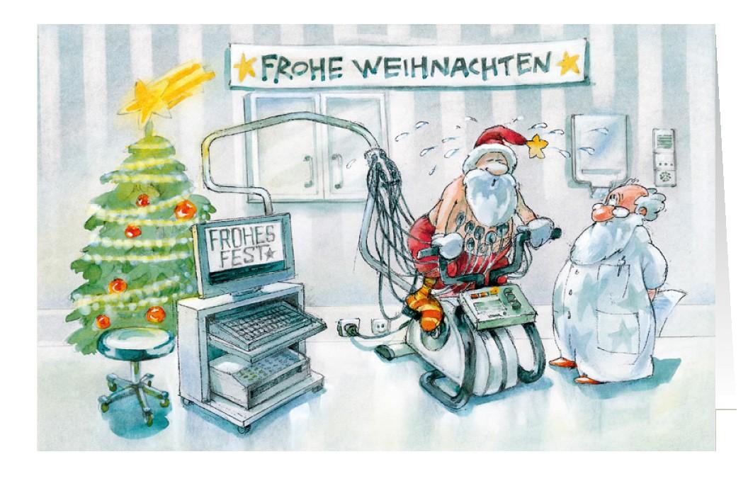 Weihnachtsgrube an arztpraxis