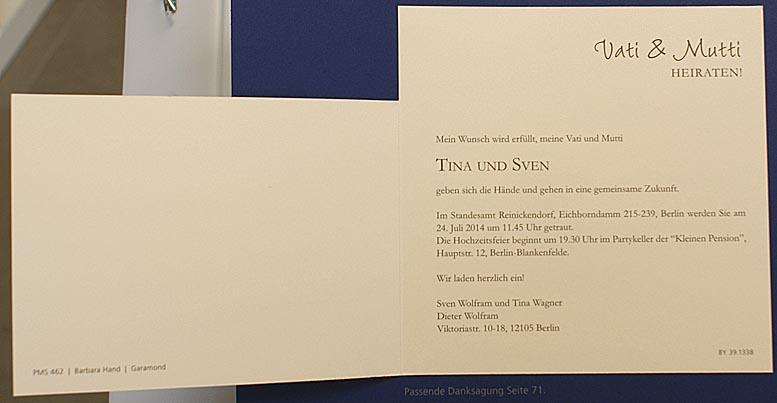 ... Hochzeit – Hochzeitseinladungen – mit Ringen – Alle-Karten.de