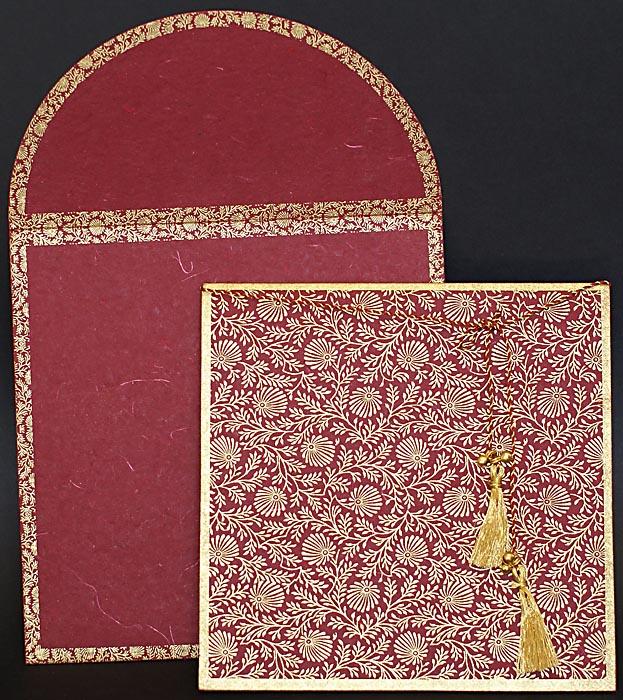 Orientalische Einladungskarte Hochzeitskarte Rd0404 Mariam