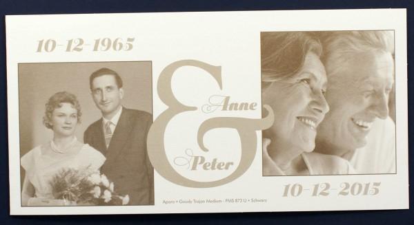 Blankokarte Cremeweiß Metallic Als Beispiel Einladungskarte Zur Goldenen  Hochzeit U2013 Sonstige Anlässe U2013 Silberhochzeitskarten 25 Jahre U2013 Fotokarten  ...