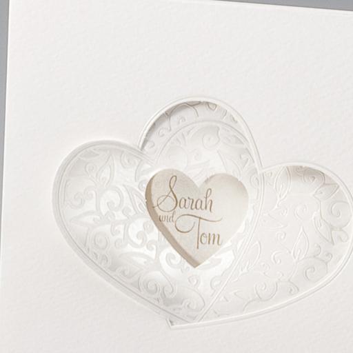 ... Hochzeit – Hochzeitseinladungen – mit Herzen – Alle-Karten.de