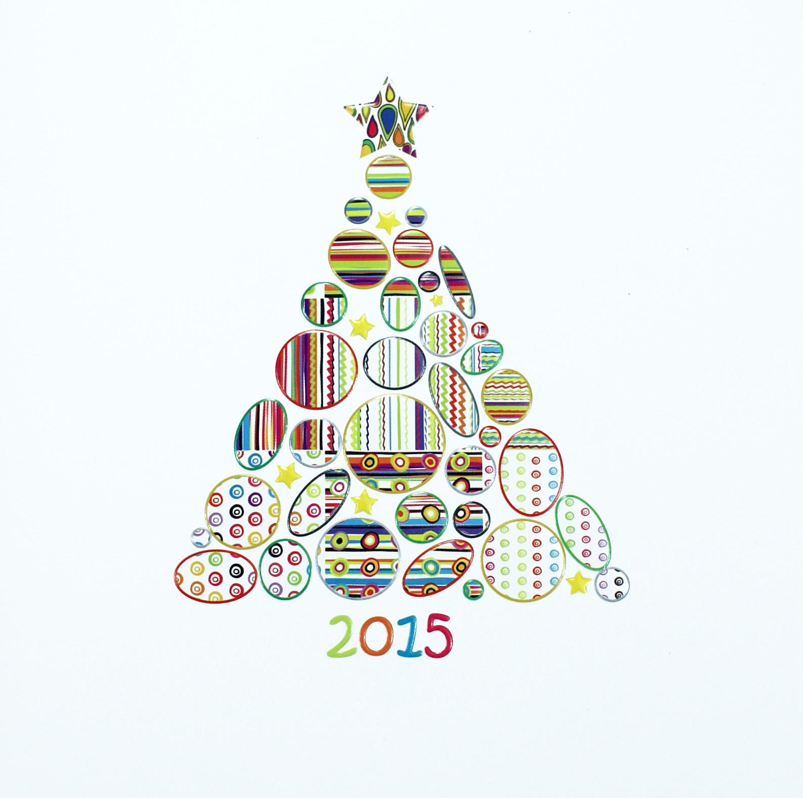 weihnachtskarte quadratisch mit weihnachtsbaum aus mustern weihnachten weihnachtskarten. Black Bedroom Furniture Sets. Home Design Ideas