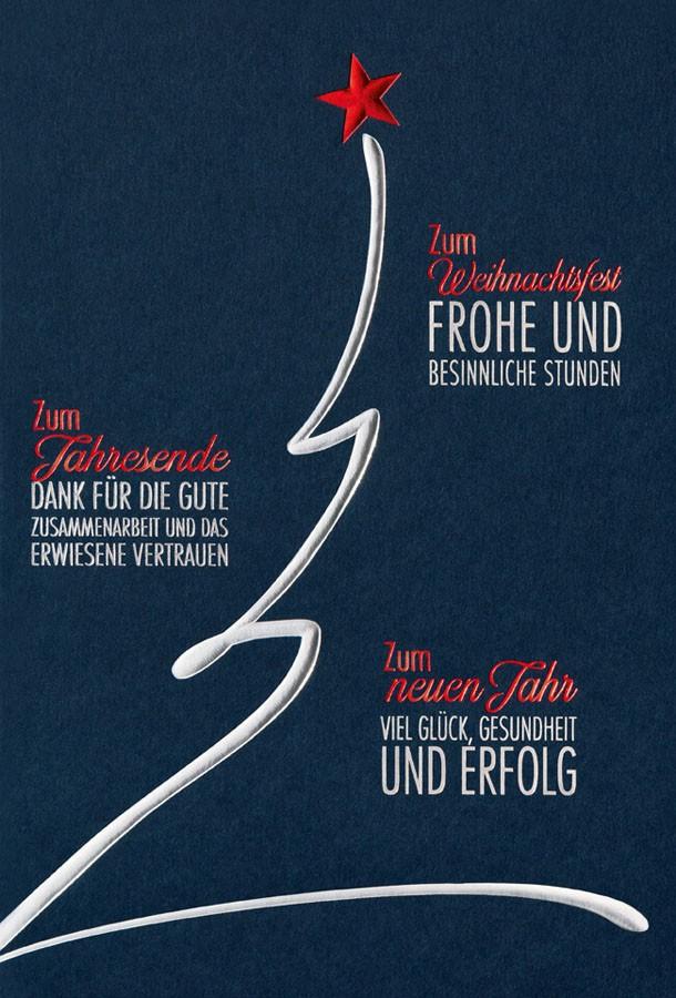 Weihnachtsgrüße Mit Danksagung.Geschäftliche Karte Mit Spendenzweck Stiftung Deutsche Kinderkrebshilfe Dank Für Zusammenarbeit