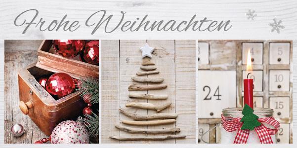 Weihnachtsmotive Für Karten.Weihnachtskarte Mit Verschiedenen Weihnachtsmotiven Weihnachten
